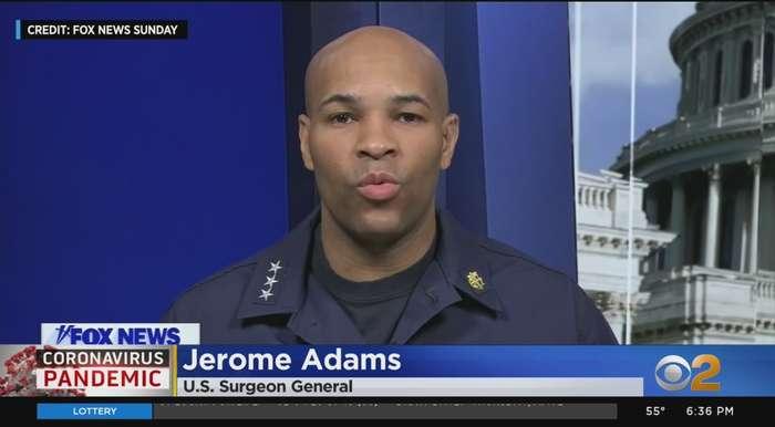 U.S. Surgeon General Warns Of Grim Week Ahead
