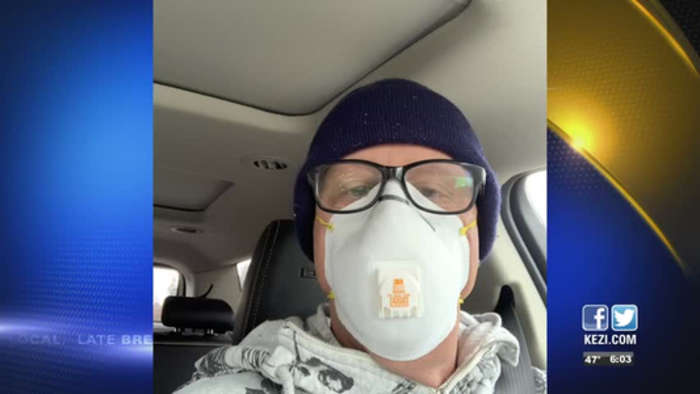 COMMUNITY RESPONDS TO CDC FACE MASK RECOMMENDATION
