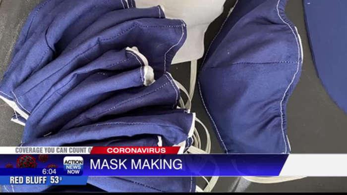 People creating masks amid coronavirus outbreak