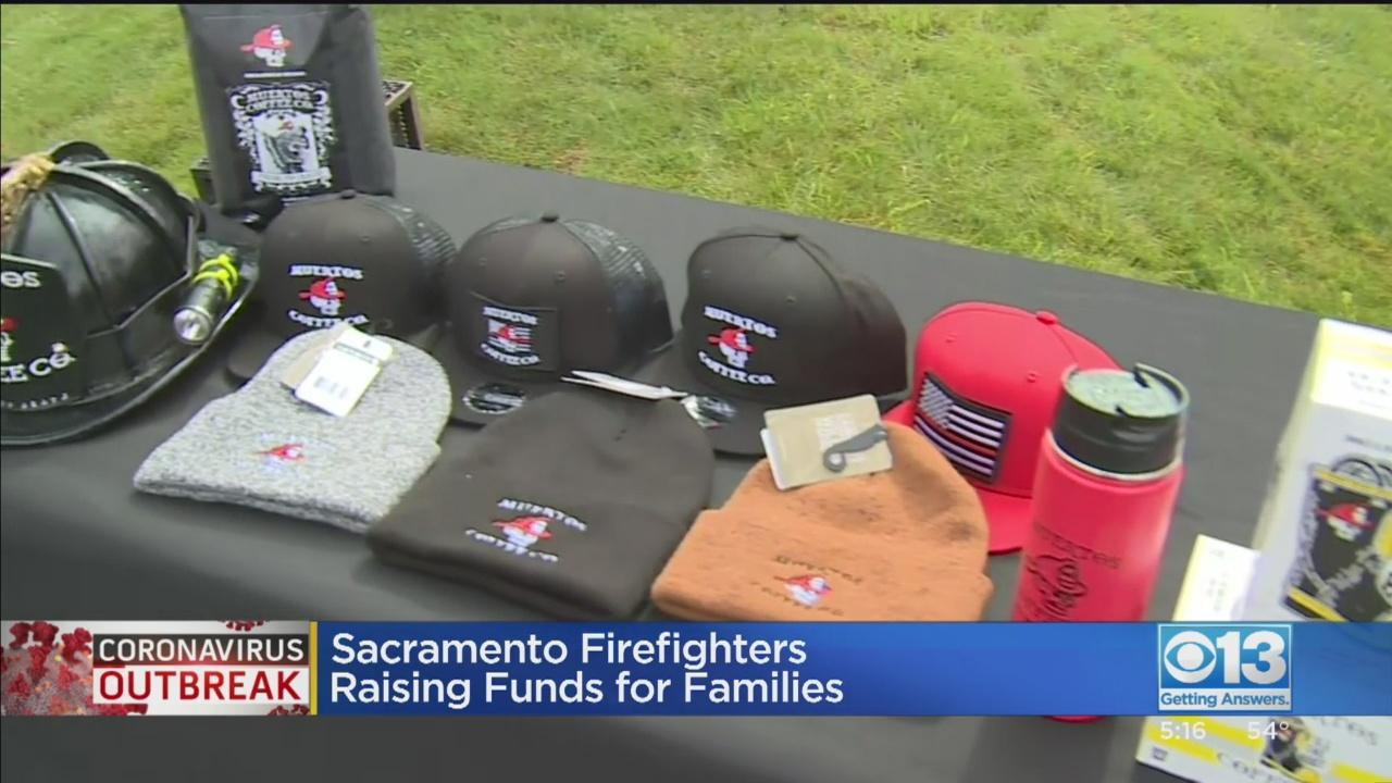 Sacramento Firefighters Raising Funds For - One News Page [US] VIDEO
