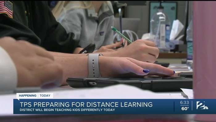 tps prepares for distance learning