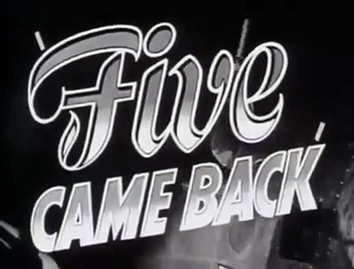 Five Came Back  movie  (1939)  -