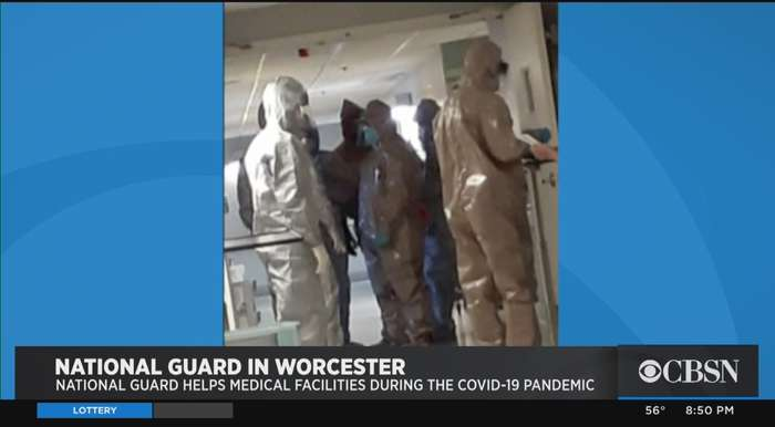 National Guard Helps Worcester Health Facility