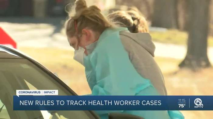 FL to start tracking health workers who test positive for COVID-19 after we found it wasn't