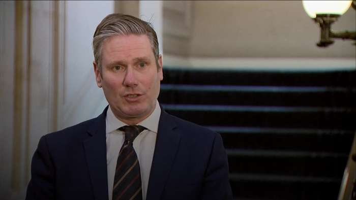 Sir Keir Starmer sends best wishes to Prime Minister Boris Johnson