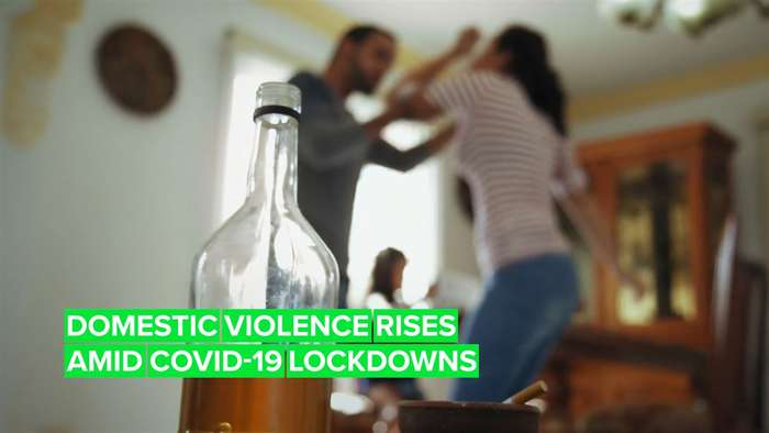 How are countries dealing with rising domestic violence cases?