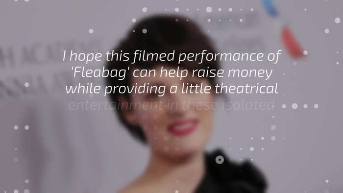 Phoebe Waller-Bridge's 'Fleabag' play to be streamed to raise money for Covid-19 relief efforts