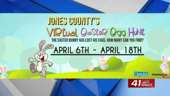 Virtual Easter Egg Hunt lifts spirits of Jones County residents