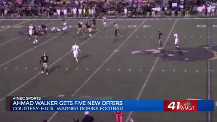 Warner Robins LB Ahmad Walker gets five new offers