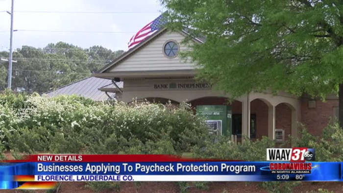 Businesses Applying To Paycheck Protection Program