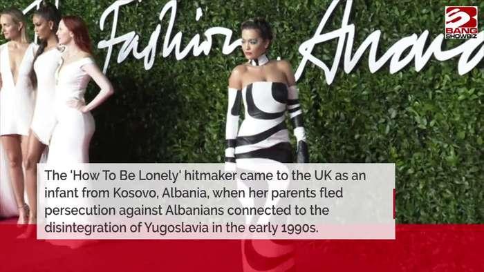 Rita Ora faced 'prejudice' for being a 'refugee'
