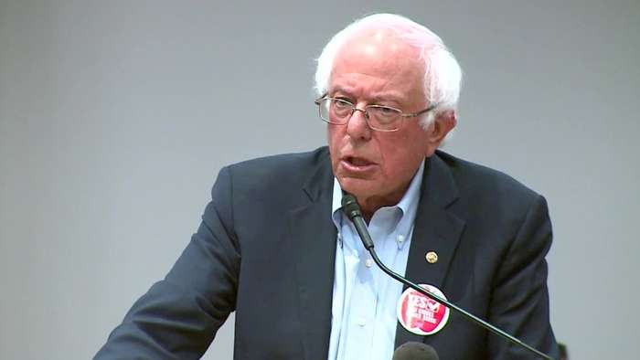 Why Sanders Is Staying On The Ballot