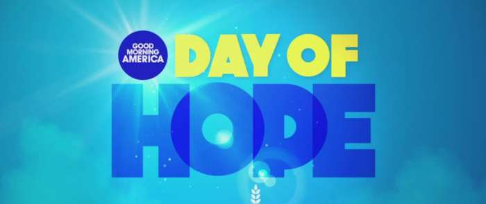 Join 13 Action News, Good Morning America for 'Day of Hope'