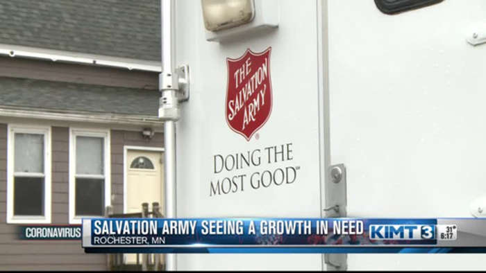 Salvation Army seeing a greater need for services