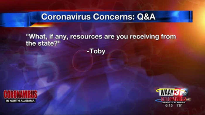 WAAY 31 Coronavirus Q&A: What resources are schools getting from the state?