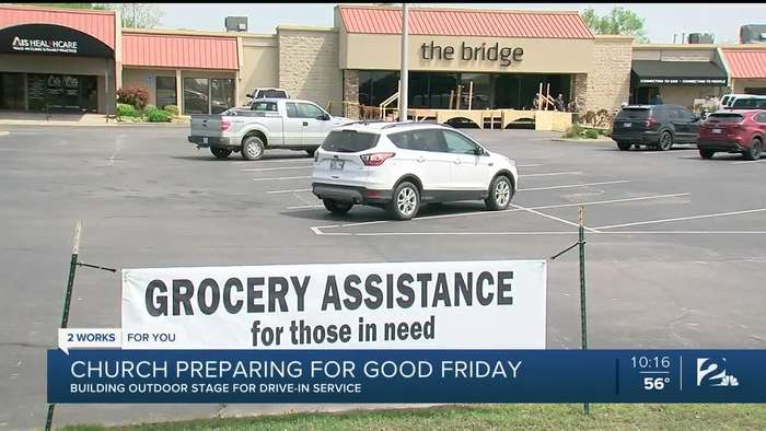 Local Church to Hold Drive-In Service for Good Friday