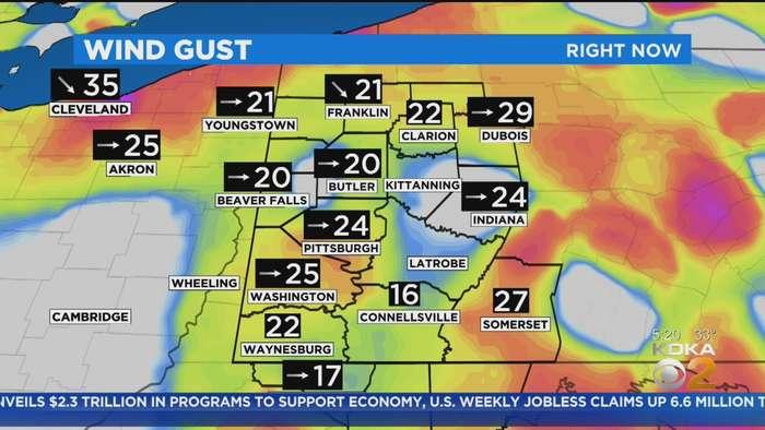 KDKA-TV Morning Forecast (4/10)