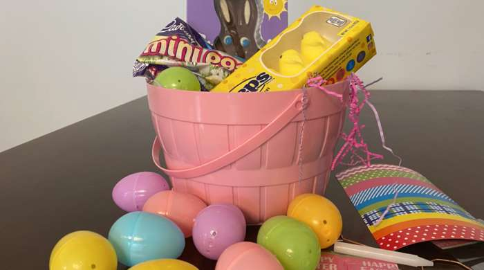 Celebrating Easter while staying at home
