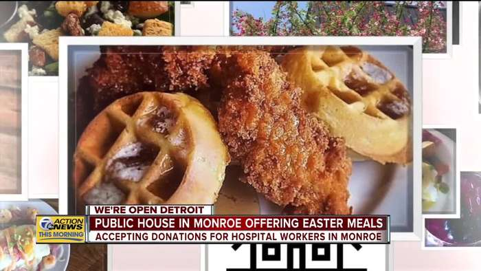 We're Open: Public House in Monroe offering Easter meals