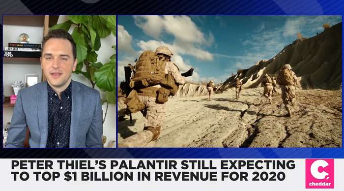 Peter Thiel's Palantir Still Expecting to Top $1B in Revenue