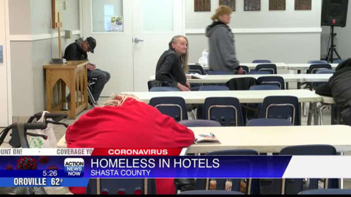 Shasta County leaders looking to place homeless people in hotels if infected with coronavirus