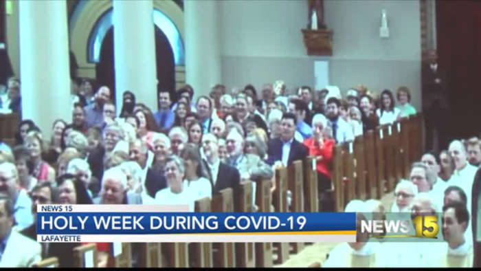 HOLY WEEK DURING COVID 19