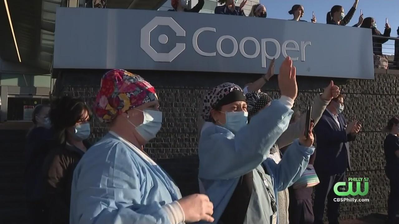 Camden County Police Salute Cooper University Hospital Health Care Workers