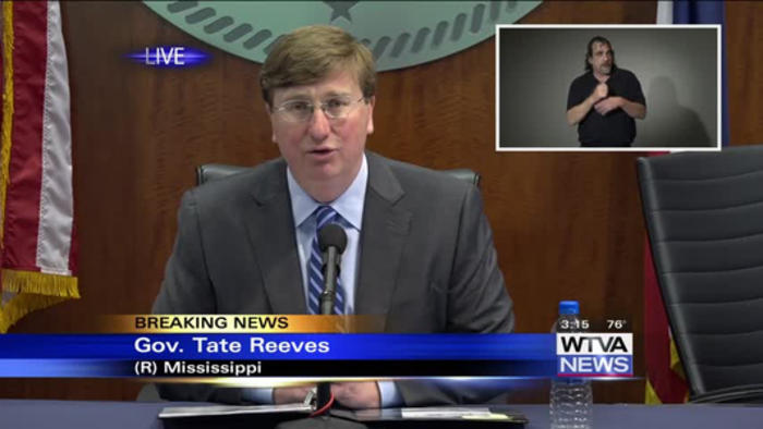 Full press conference - Gov. Tate Reeves highlights businesses for roles in fighting COVID-19