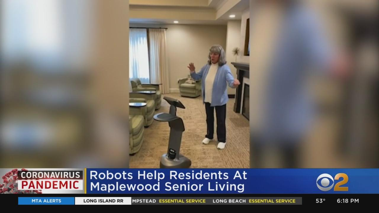 Robots Help Residents At Maplewood Senior Living Cope With Isolation