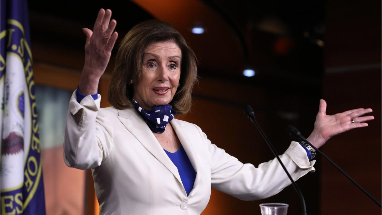 Pelosi Says State And Local Government May Need Around $1 Trillion In Aid