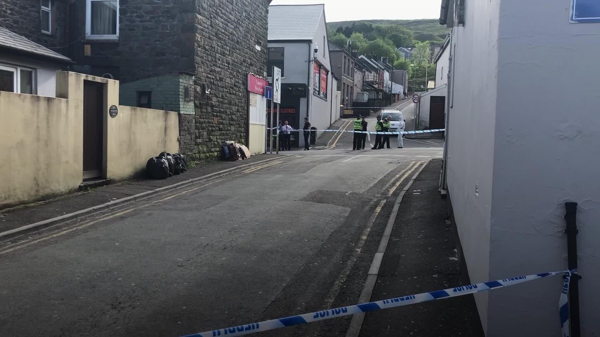 Elderly man killed in 'serious incident' in Wales