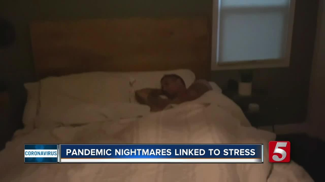 Dealing with vivid dreams that may be adding to stress during the pandemic