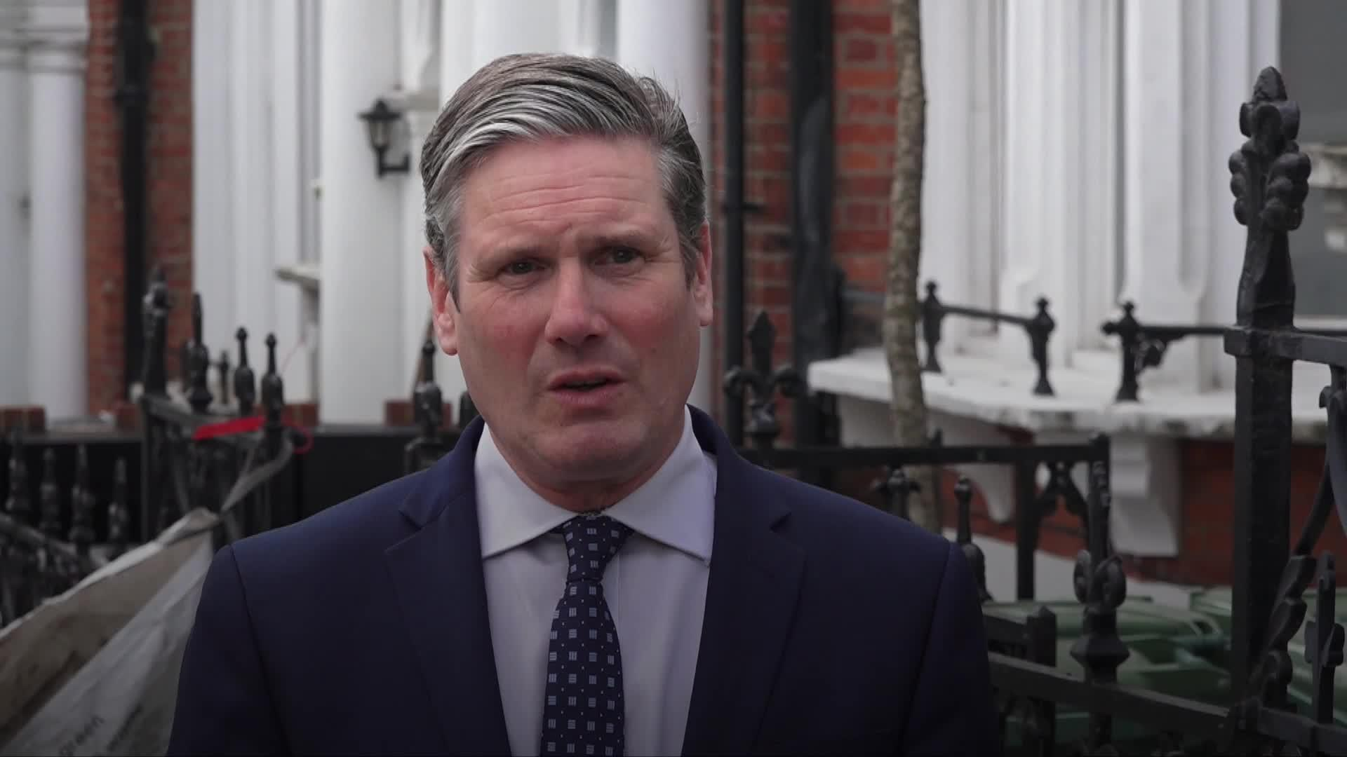 Sir Keir Starmer: UK cannot lift restrictions until coronavirus is under control