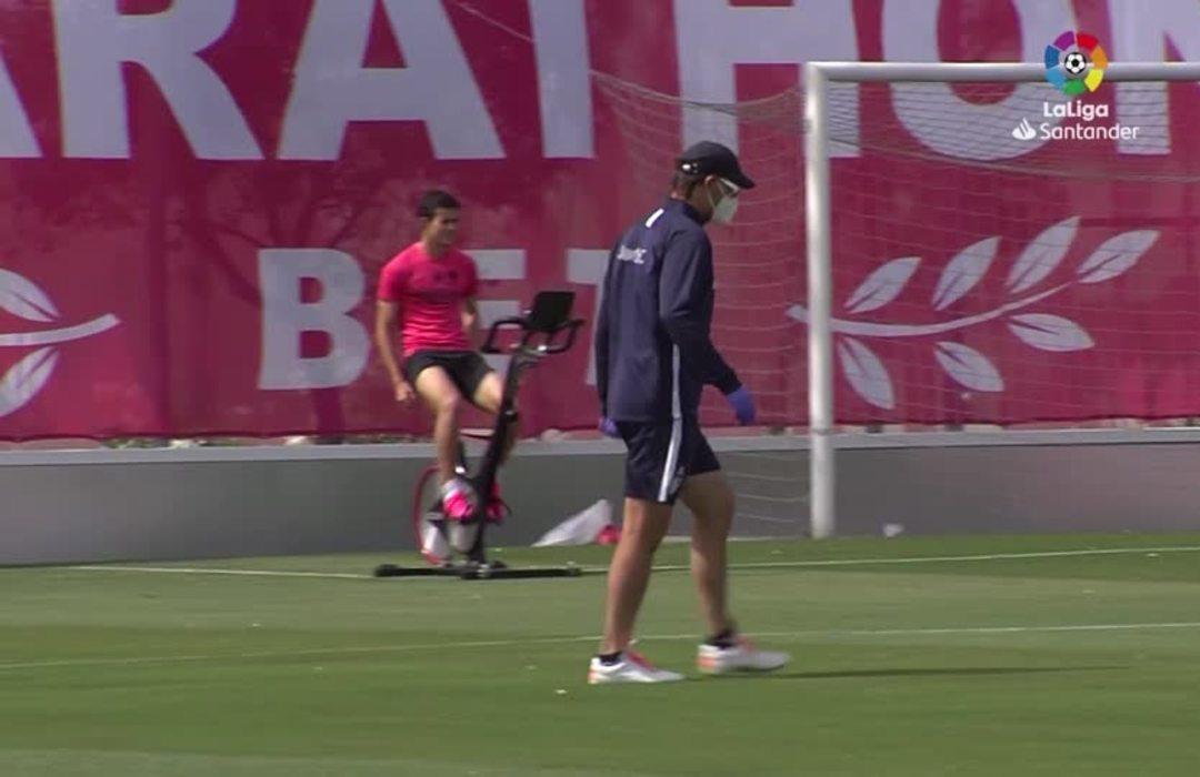 La Liga clubs back in training