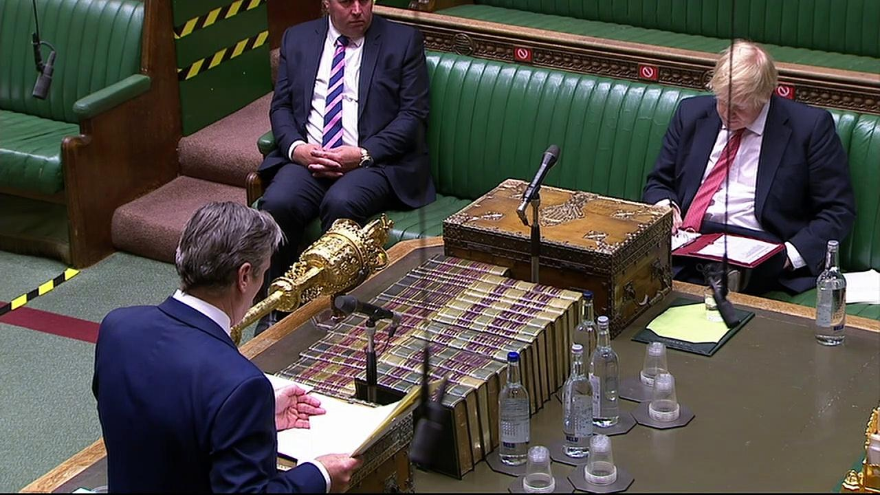 Starmer challenges PM over confusing roadmap message