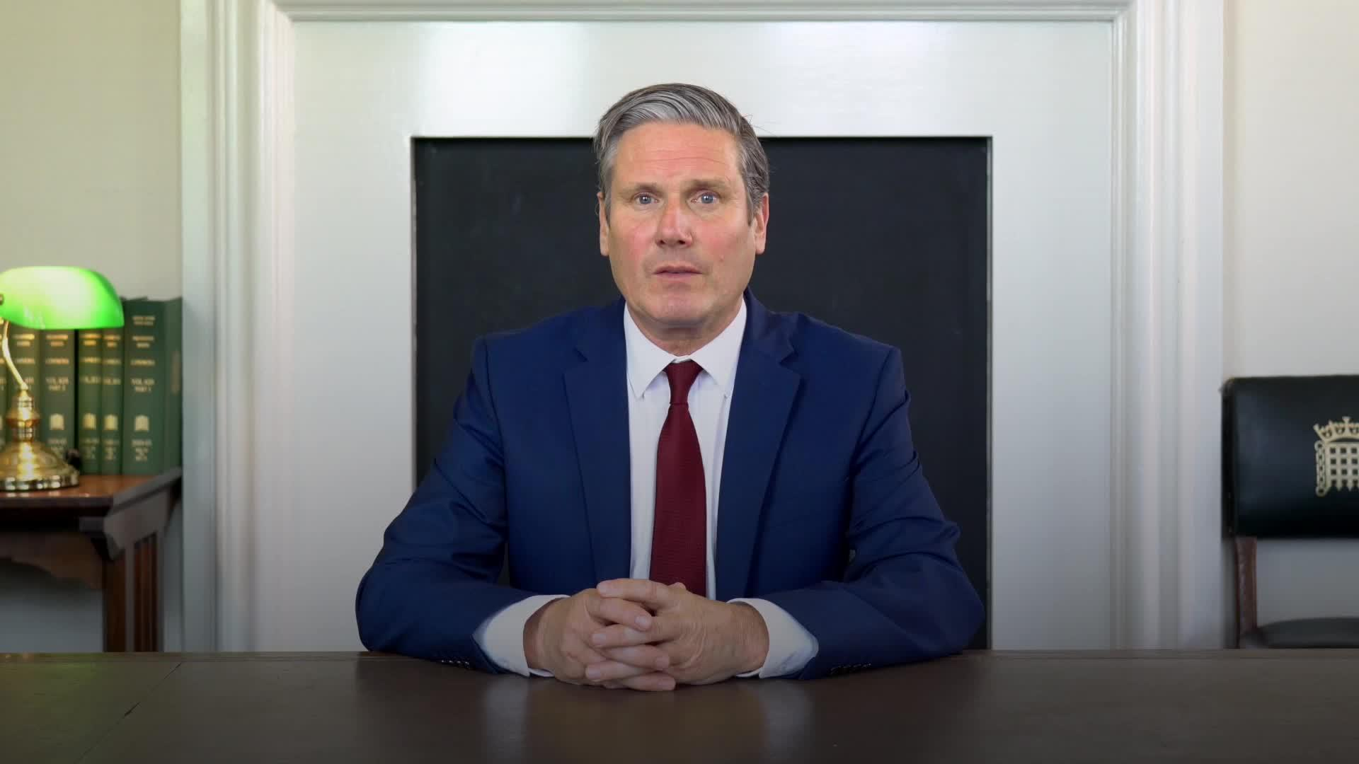 Starmer calls on Johnson to provide 'clarity and reassurance' in Covid-19 crisis