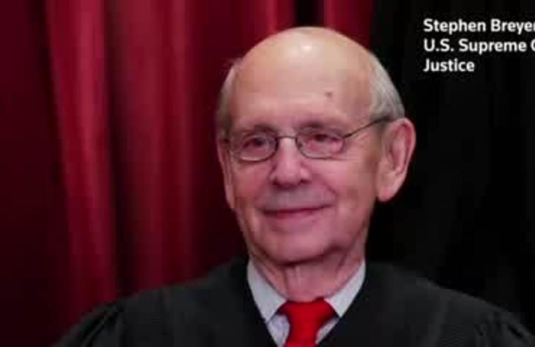 Justice Breyer: Why not subpoena Trump like any other 'human?'