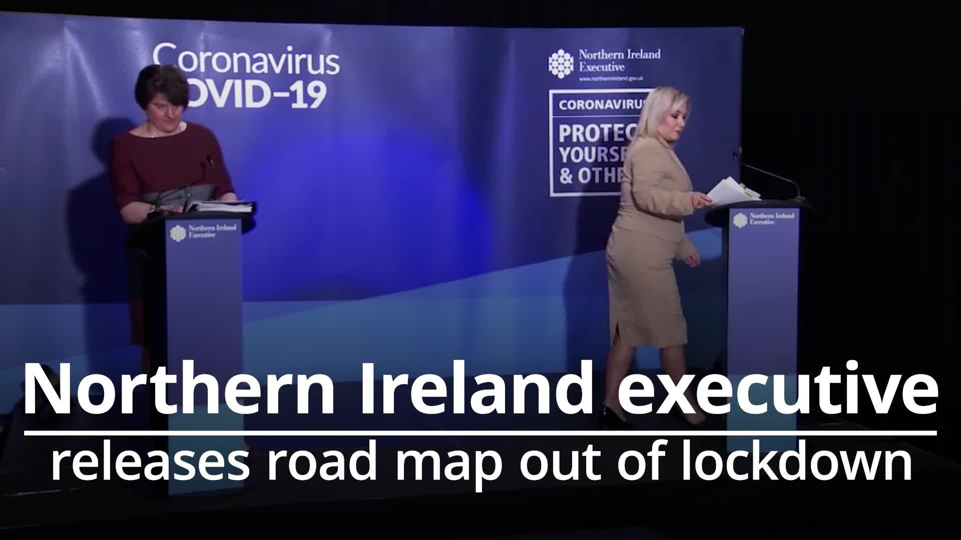 Northern Ireland release road map out of lockdown