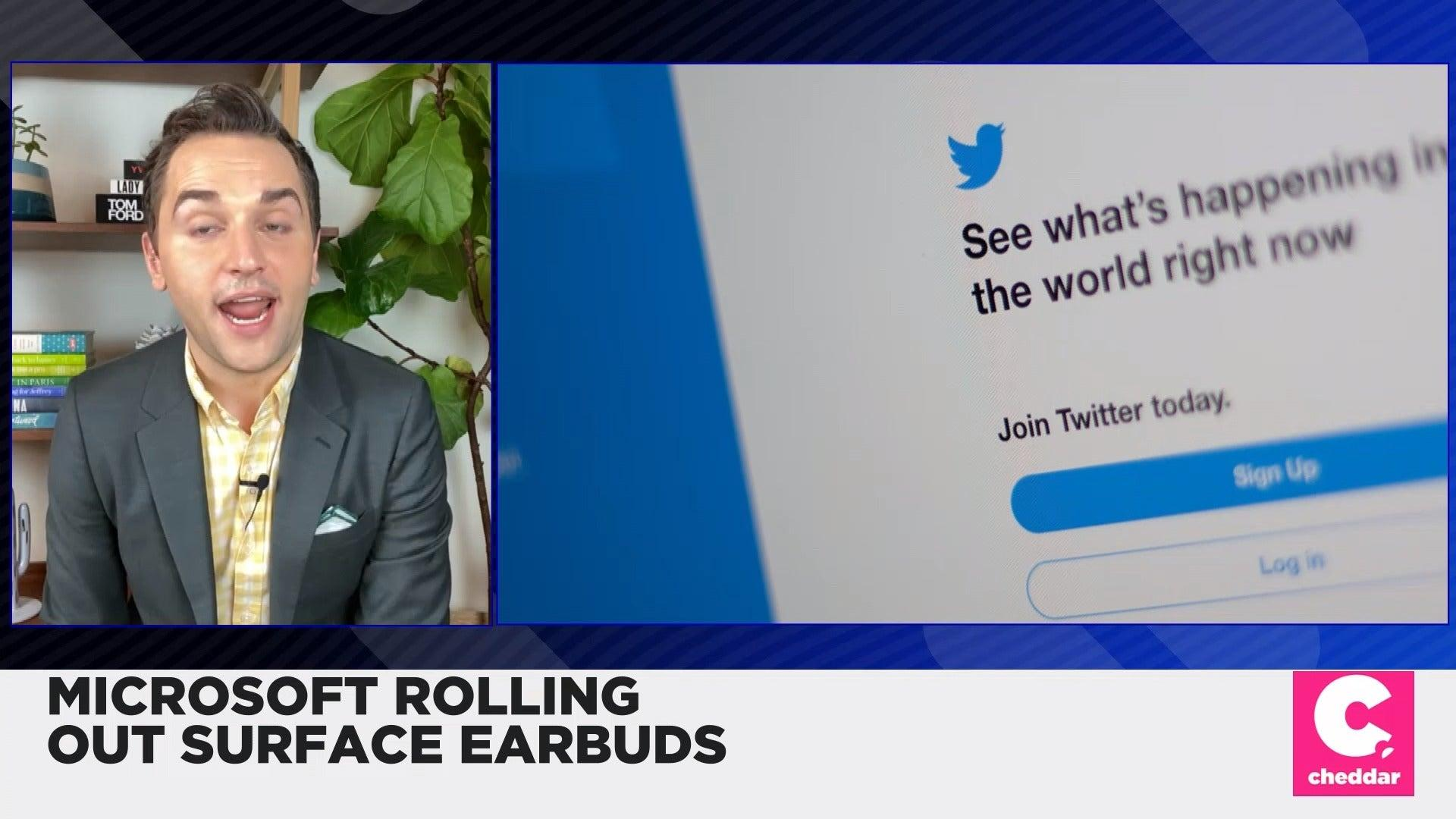 Microsoft Rolling Out Surface Earbuds