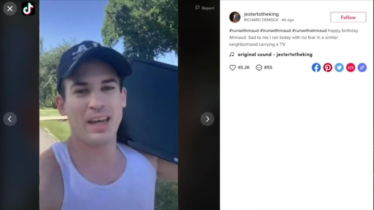 Former Vero Beach pastor shows support for Ahmaud Arbery in viral video