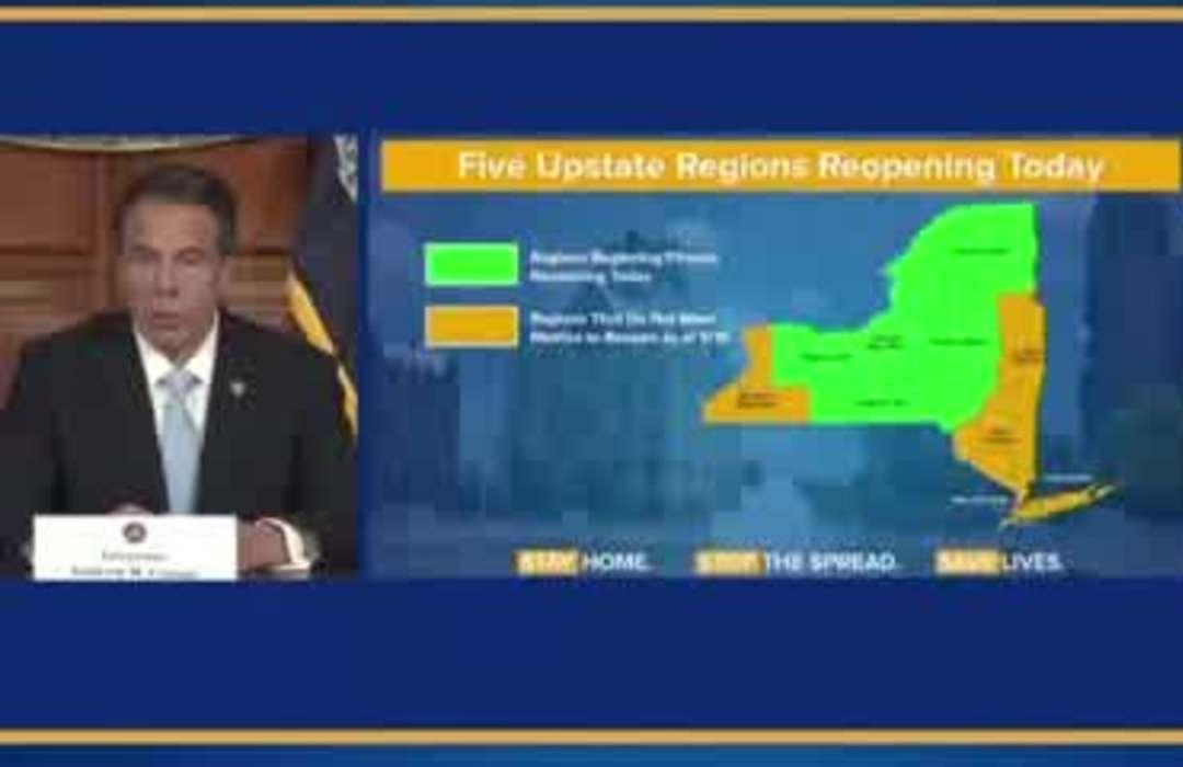 Parts of NY, VA and MD reopen in patchwork start