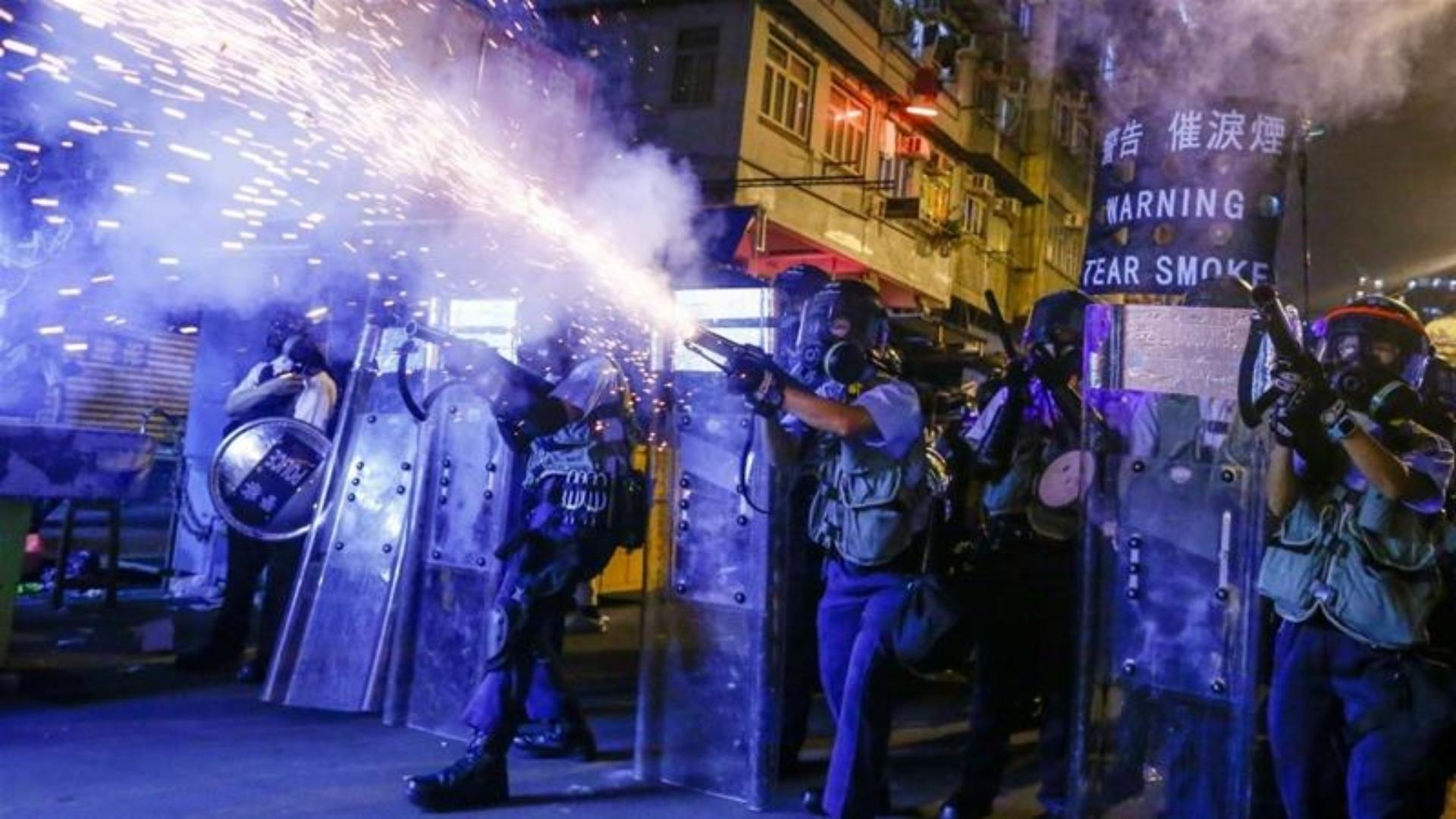 Beijing envoy takes on the Hong Kong protest movement