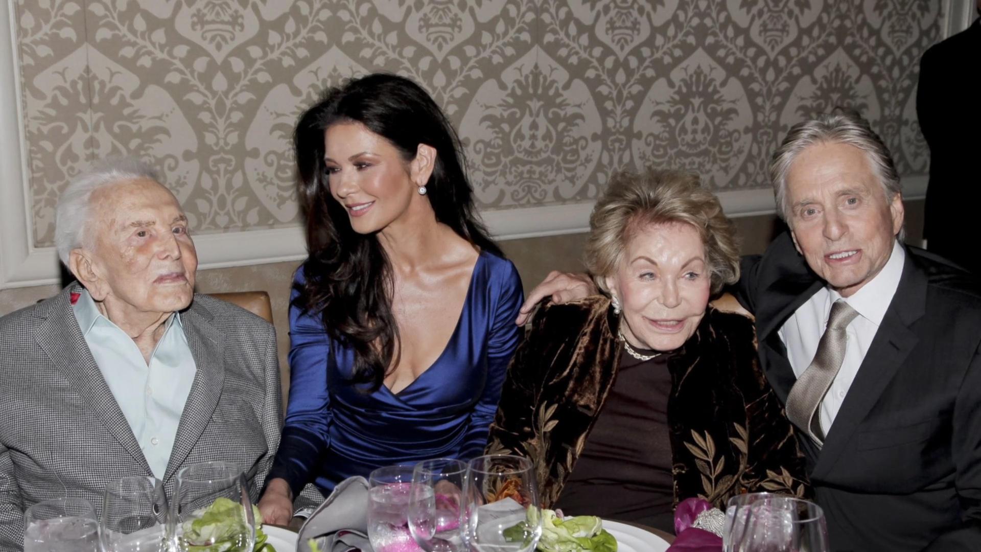 Michael Douglas and Catherine Zeta-Jones remember 'one of a kind' Kirk Douglas