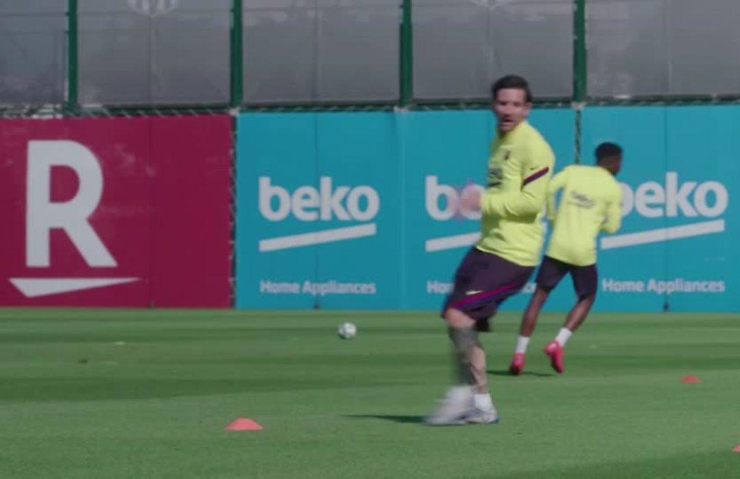 Barca and Atletico train in groups for first time since COVID-19 lockdown