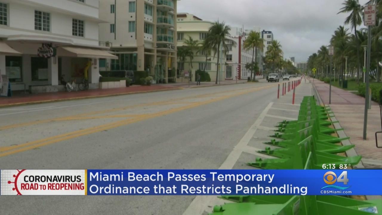 Miami Beach Passes Temporary Ordinance Restricting Panhandling