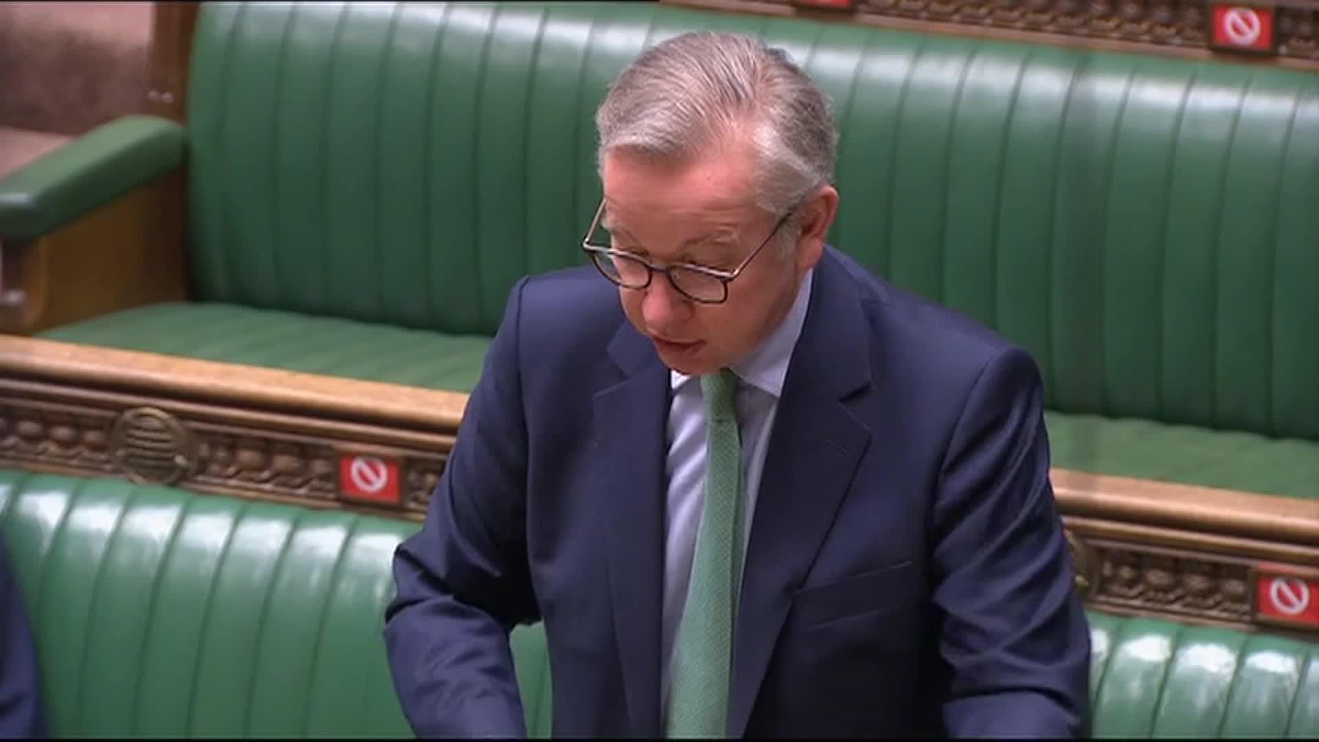 'You're better than that' - Gove interrupted while attacking Labour's Brexit stance