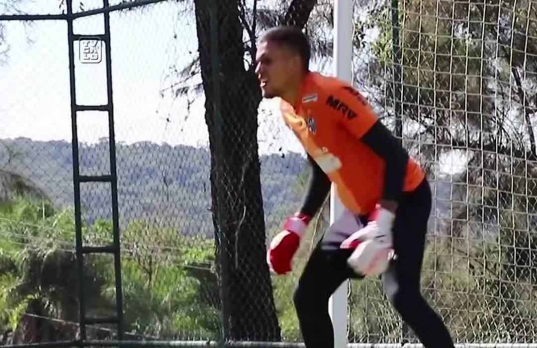 Brazil soccer club Atletico Mineiro step up hygiene rules in return to training