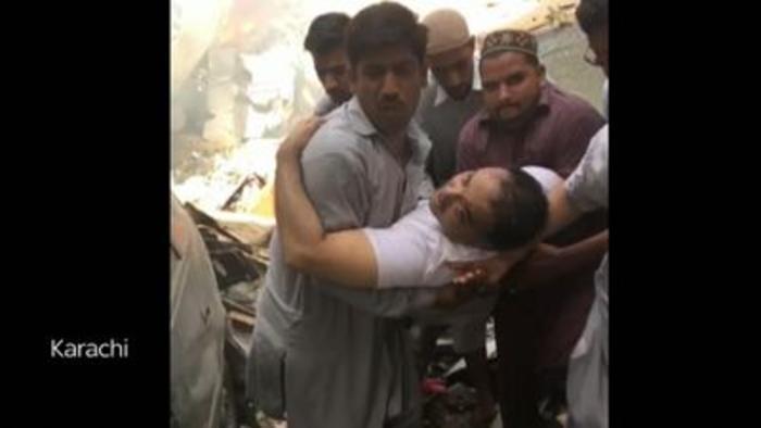 Plane crash: Survivor pulled from wreckage