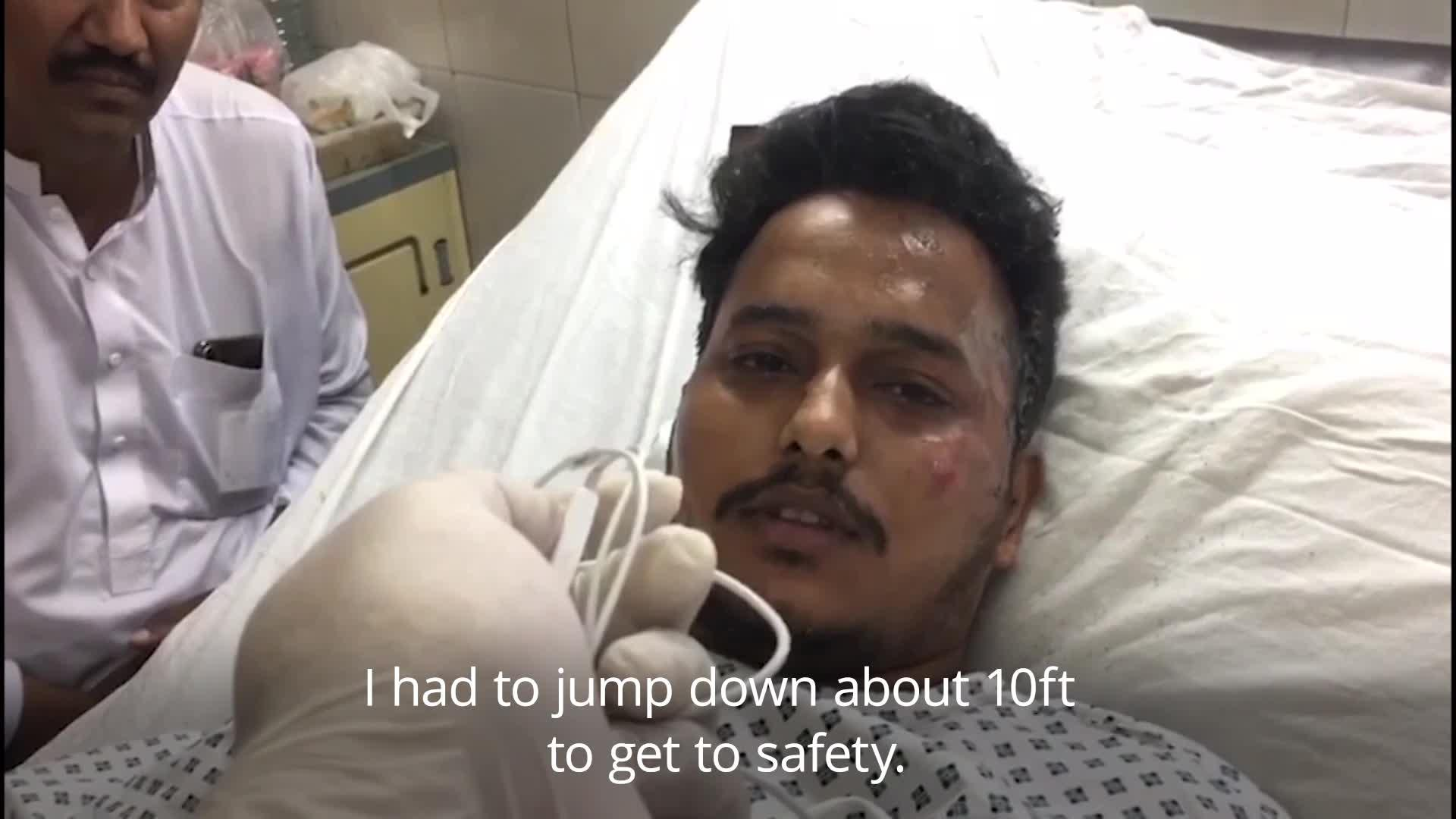 Pakistan plane crash survivor tells of 'jump' to safety