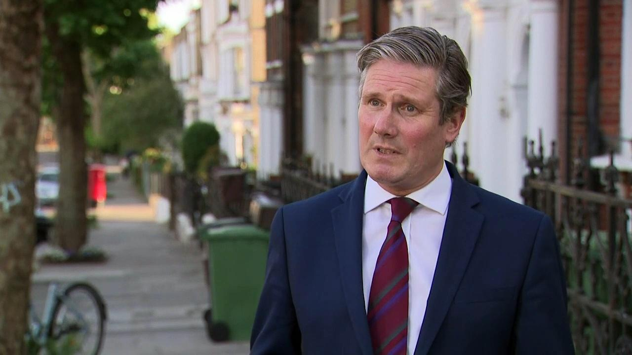 Labour: PM has 'failed test' in not sacking Cummings